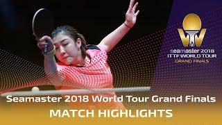 【Video】CHEN Meng VS Zhu Yuling, bán kết Vòng chung kết World Tour 2018