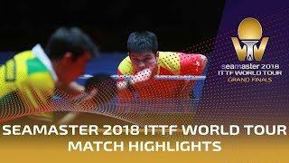 【Video】CALDERANO Hugo VS FAN Zhendong, tứ kết Vòng chung kết World Tour 2018