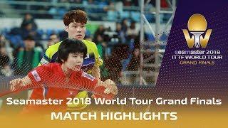 【Video】LIM Jonghoon・YANG Haeun VS JANG Woojin・CHA Hyo Sim, bán kết Vòng chung kết World Tour 2018