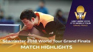 【Video】XU Xin VS WONG Chun Ting, vòng 16 Vòng chung kết World Tour 2018
