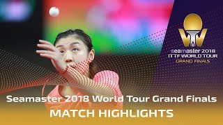 【Video】CHEN Meng VS CHEN Xingtong, vòng 16 Vòng chung kết World Tour 2018