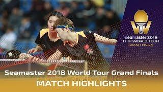 【Video】CHEN Ke・WANG Manyu VS HASHIMOTO Honoka・SATO Hitomi, tứ kết Vòng chung kết World Tour 2018