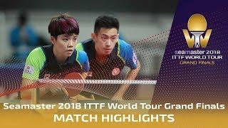 【Video】WONG Chun Ting・DOO Hoi Kem VS CHEN Chien-An・CHENG I-Ching, tứ kết Vòng chung kết World Tour 2018