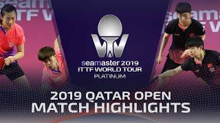 【Video】DING Ning・WANG Yidi VS SUN Yingsha・WANG Manyu, chung kết 2019 Bạch kim Qatar mở