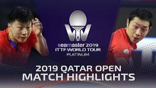 【Video】MA Long VS XU Xin, bán kết 2019 Bạch kim Qatar mở