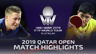 【Video】KARLSSON Mattias VS HARIMOTO Tomokazu, tứ kết 2019 Bạch kim Qatar mở