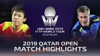 【Video】KARLSSON Mattias VS LIN Gaoyuan, bán kết 2019 Bạch kim Qatar mở