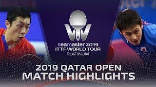 【Video】OSHIMA Yuya VS XU Xin, vòng 16 2019 Bạch kim Qatar mở