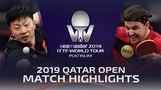 【Video】BOLL Timo VS MA Long, vòng 16 2019 Bạch kim Qatar mở