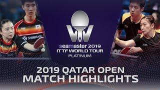 【Video】XU Xin・LIU Shiwen VS LEE Sangsu・JEON Jihee, tứ kết 2019 Bạch kim Qatar mở