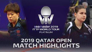 【Video】WANG Yidi VS SOLJA Petrissa, vòng 32 2019 Bạch kim Qatar mở