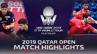 【Video】BOLL Timo・FRANZISKA Patrick VS FLORE Tristan・LEBESSON Emmanuel, vòng 16 2019 Bạch kim Qatar mở