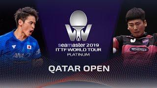 【Video】SEO Hyundeok VS OSHIMA Yuya, vòng 128 2019 Bạch kim Qatar mở