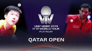 【Video】WANG Chuqin VS LEBESSON Emmanuel, vòng 128 2019 Bạch kim Qatar mở