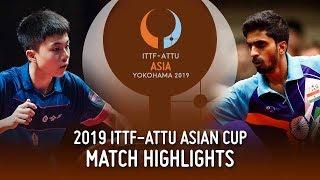【Video】LIN Yun-Ju VS GNANASEKARAN Sathiyan Cúp châu Á 2019 ITTF-ATTU