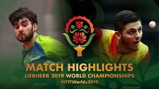 【Video】LAMADRID Juan VS KOSTOVSKI Petar,  Giải vô địch bóng bàn thế giới 2019