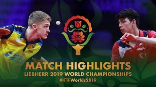 【Video】KALLBERG Anton VS YIGENLER Abdullah,  Giải vô địch bóng bàn thế giới 2019