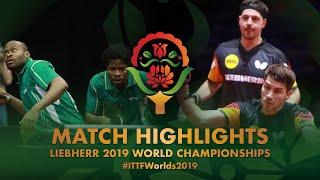 【Video】ARUNA Quadri・OMOTAYO Olajide VS BOLL Timo・FRANZISKA Patrick, vòng 64 Giải vô địch bóng bàn thế giới 2019