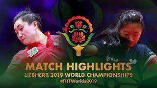【Video】WANG Amy VS Feng Tianwei, vòng 128 Giải vô địch bóng bàn thế giới 2019