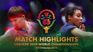 【Video】WANG Manyu VS HANFFOU Sarah, vòng 128 Giải vô địch bóng bàn thế giới 2019