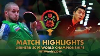 【Video】XU Xin VS ZIBRAT Jan, vòng 128 Giải vô địch bóng bàn thế giới 2019