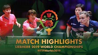 【Video】CHEN Meng・Zhu Yuling VS DE NUTTE Sarah・NI Xia Lian, vòng 32 Giải vô địch bóng bàn thế giới 2019