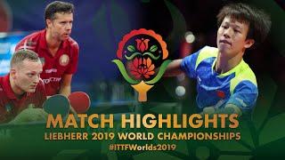 【Video】LIANG Jingkun・LIN Gaoyuan VS PLATONOV Pavel・SAMSONOV Vladimir, vòng 32 Giải vô địch bóng bàn thế giới 2019