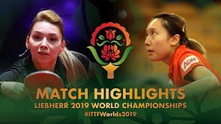 【Video】SZOCS Bernadette VS SOO Wai Yam Minnie, vòng 32 Giải vô địch bóng bàn thế giới 2019