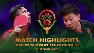 【Video】MA Long VS SAMSONOV Vladimir, vòng 32 Giải vô địch bóng bàn thế giới 2019