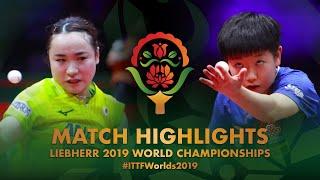【Video】MIMA Ito VS SUN Yingsha, vòng 32 Giải vô địch bóng bàn thế giới 2019