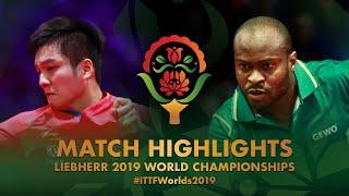 【Video】FAN Zhendong VS ARUNA Quadri, vòng 32 Giải vô địch bóng bàn thế giới 2019