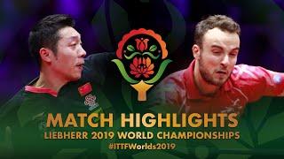 【Video】GAUZY Simon VS XU Xin, vòng 32 Giải vô địch bóng bàn thế giới 2019
