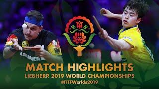 【Video】BOLL Timo VS MASATAKA Morizono, vòng 32 Giải vô địch bóng bàn thế giới 2019