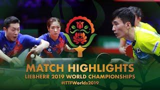【Video】LEE Sangsu・JEON Jihee VS XU Xin・LIU Shiwen, tứ kết Giải vô địch bóng bàn thế giới 2019
