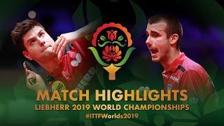 【Video】OVTCHAROV Dimitrij VS PUCAR Tomislav, vòng 32 Giải vô địch bóng bàn thế giới 2019