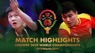 【Video】FAN Zhendong VS LIANG Jingkun, vòng 16 Giải vô địch bóng bàn thế giới 2019