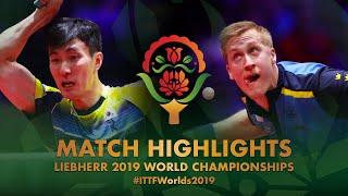 【Video】LEE Sangsu VS KARLSSON Mattias, vòng 16 Giải vô địch bóng bàn thế giới 2019