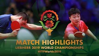 【Video】MA Long VS CALDERANO Hugo, vòng 16 Giải vô địch bóng bàn thế giới 2019