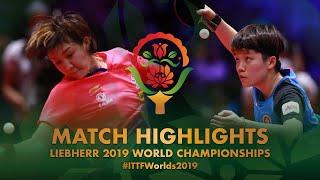【Video】CHEN Meng VS DOO Hoi Kem, tứ kết Giải vô địch bóng bàn thế giới 2019