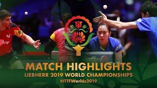 【Video】FRANZISKA Patrick・SOLJA Petrissa VS MAHARU Yoshimura・ISHIKAWA Kasumi, bán kết Giải vô địch bóng bàn thế giới 2019