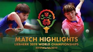 【Video】CHEN Meng VS WANG Manyu, bán kết Giải vô địch bóng bàn thế giới 2019