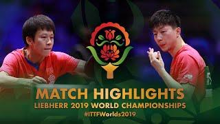 【Video】MA Long VS LIN Gaoyuan, tứ kết Giải vô địch bóng bàn thế giới 2019