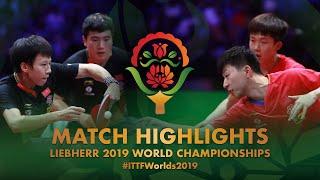 【Video】MA Long・WANG Chuqin VS LIANG Jingkun・LIN Gaoyuan, bán kết Giải vô địch bóng bàn thế giới 2019