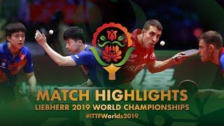 【Video】IONESCU Ovidiu・ROBLES Alvaro VS MA Long・WANG Chuqin, chung kết Giải vô địch bóng bàn thế giới 2019