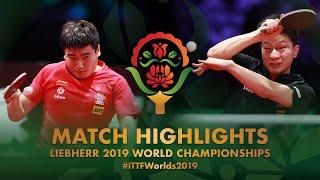 【Video】MA Long VS LIANG Jingkun, bán kết Giải vô địch bóng bàn thế giới 2019