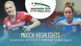 【Video】PETEK Petra VS LUPULESKU Izabela, vòng 64 2019 ITTF Thử thách Serbia mở