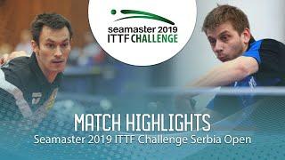 【Video】FEGERL Stefan VS PETO Zsolt, vòng 32 2019 ITTF Thử thách Serbia mở
