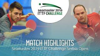 【Video】LAMADRID Juan VS DRINKHALL Paul, vòng 32 2019 ITTF Thử thách Serbia mở