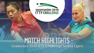 【Video】ZHANG Wenjing VS BALAZOVA Barbora, vòng 16 2019 ITTF Thử thách Serbia mở