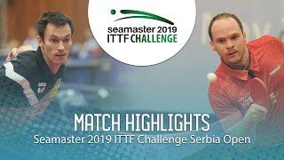 【Video】FEGERL Stefan VS DRINKHALL Paul, vòng 16 2019 ITTF Thử thách Serbia mở